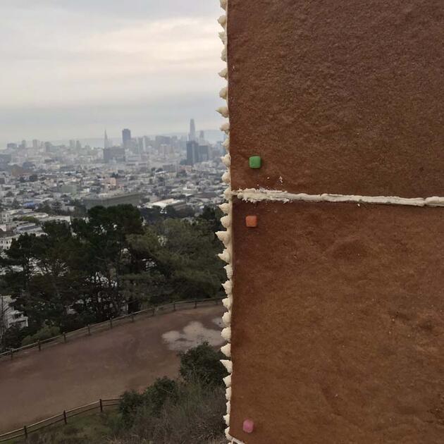 ABD'de zencefilli çörekten yapılmış monolit bulundu