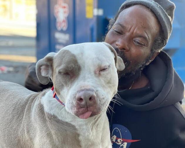 Evsiz adam hayvan barınağındaki bütün kedi ve köpekleri yangından kurtardı