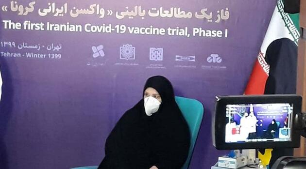 """İran'ın yerli Kovid-19 aşısı """"Bereket"""