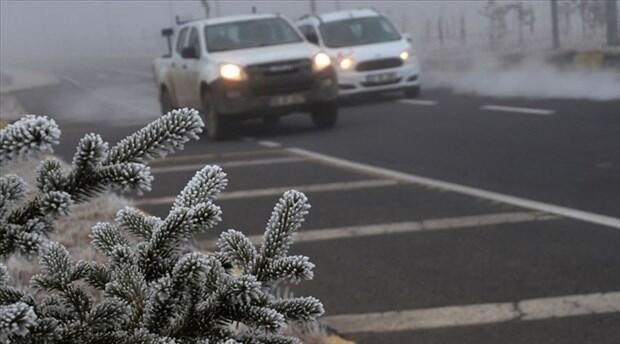 16 Ocak Cumartesi hava durumu: Meteoroloji'den buzlanma ve don uyarısı