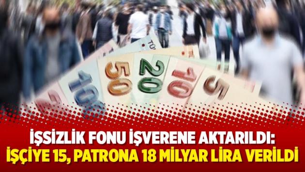 İşsizlik Fonu işverene aktarıldı: İşçiye 15, patrona 18 milyar lira verildi