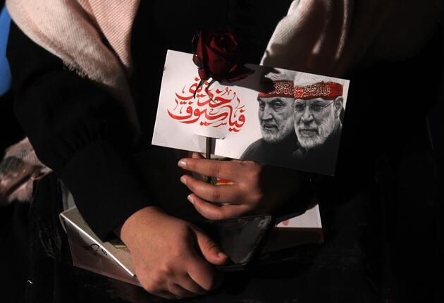 Kasım Süleymani ölümünün 1. yılında İran'da anıldı: İntikam yemini yinelendi