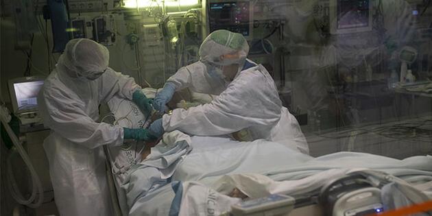 Koronavirüsün akciğere girişi!