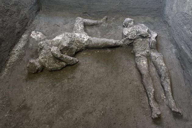 Pompei'deki kazılarda ortaya çıkarılan eserler Antiquarium'da sergilenecek