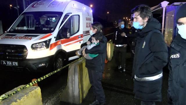 Alkollü sürücünün kullandığı otomobil takla attı: 3'ü çocuk 4 yaralı