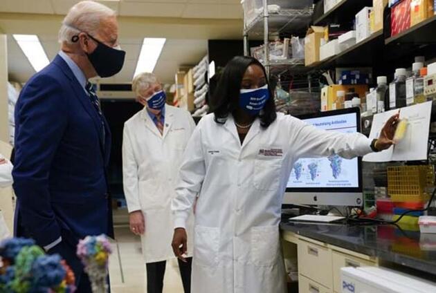 Son dakika: Joe Biden'dan aşı açıklaması! ABD kendini garantiye aldı