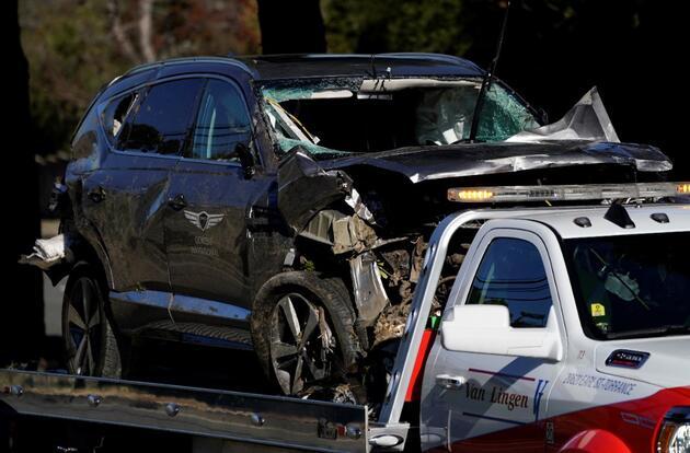 Trafik kazası geçiren ve ameliyata alınan ünlü golfçü Tiger Woods'un son durumu hakkında açıklama