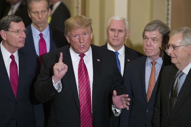 Zeytin dalı uzattı! Trump'ın 2024 adaylığına destek
