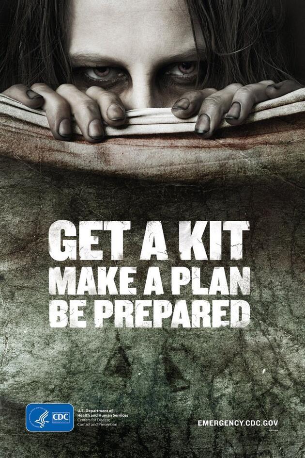 ABD Hastalık Kontrol ve Önleme Merkezi'nden 'Zombi Hazırlık Kılavuzu'