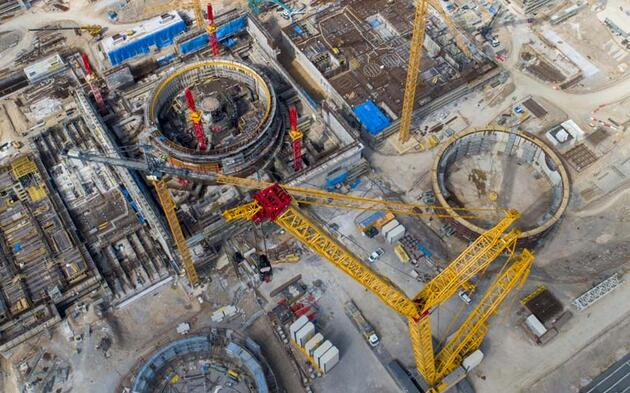 Akkuyu Nükleer Güç Santrali'nde üçüncü reaktörün temeli atılıyor