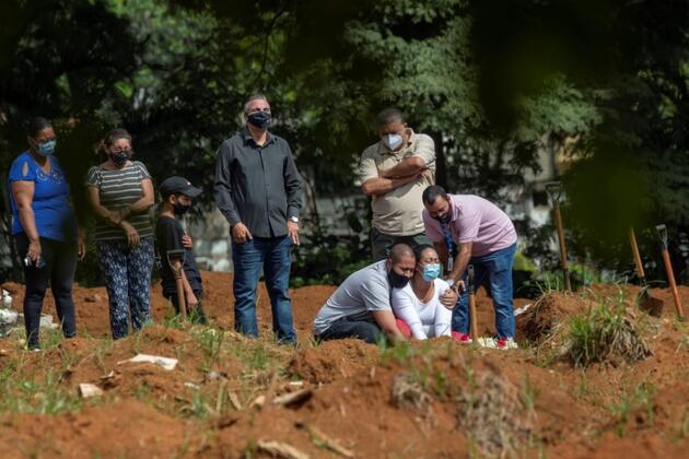 Brezilya'da mutasyon kabusu: Son 24 saatte 3 binden fazla can kaybı