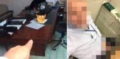 Kadın vekilin sandalyesine oturup kendini tatmin eden bürokrat görevden atıldı