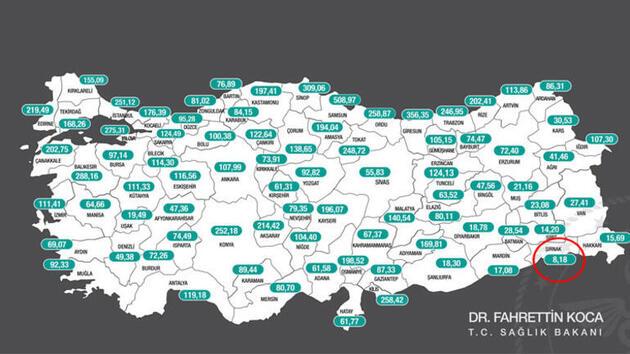 Risk haritasında 1 haftada 14 il daha kızardı: Tek mavi ilin sırrı