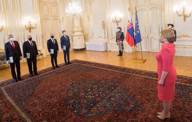 Slovakya'da Başbakan Matovic, Maliye Bakanı ile koltuk değiştirecek