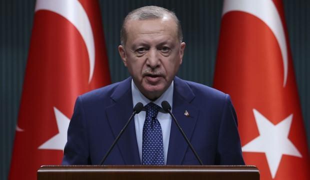 Cumhurbaşkanı Erdoğan'dan önemli görüşme