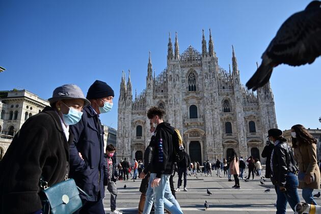 İtalya'da COVID-19 tedbirleri Nisan ayı sonuna kadar uzatıldı