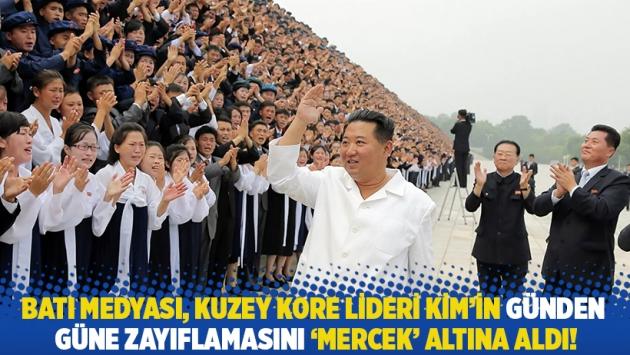 Batı medyası, Kuzey Kore lideri Kim'in günden güne zayıflamasını 'mercek' altına aldı!